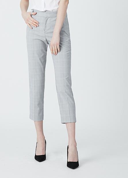 Slim Fit九分西裝褲