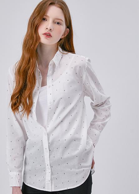 捲釦長袖襯衫