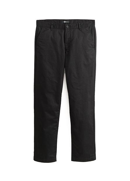 Regular Fit斜紋長褲