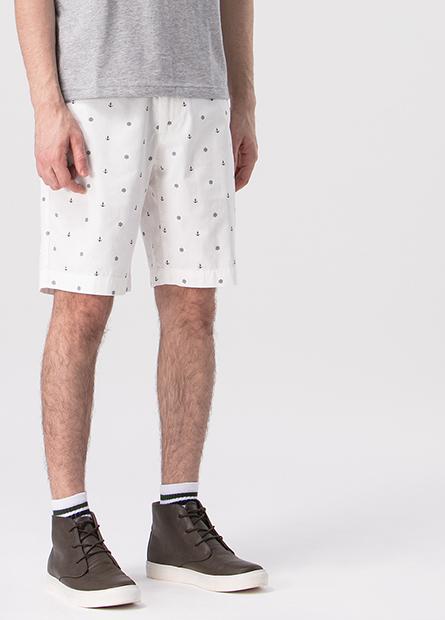 Regular Fit百慕達印花短褲