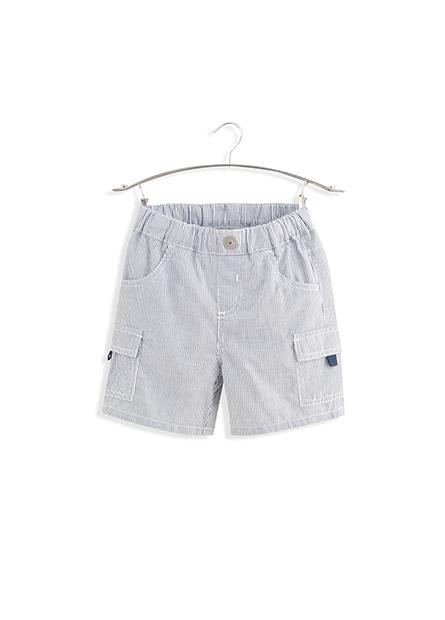 男嬰鬆緊腰多口袋短褲