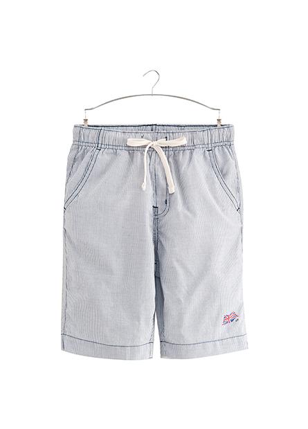 男童局部印圖字短褲