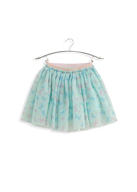 女嬰金蔥蝴蝶短紗裙