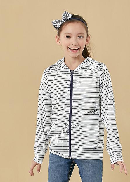 女童迪士尼抗UV連帽外套
