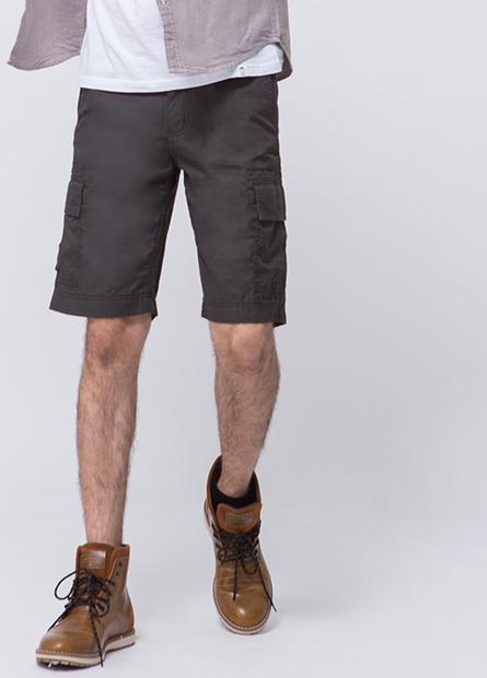 Regular Fit多口袋短褲