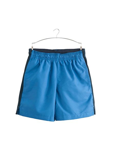男童側邊配色拼接短褲