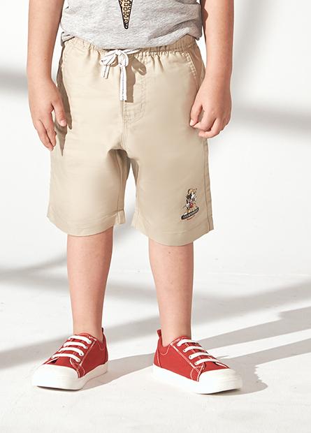 男童米奇抽繩短褲