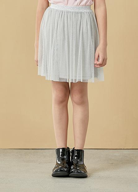女童網紗短裙