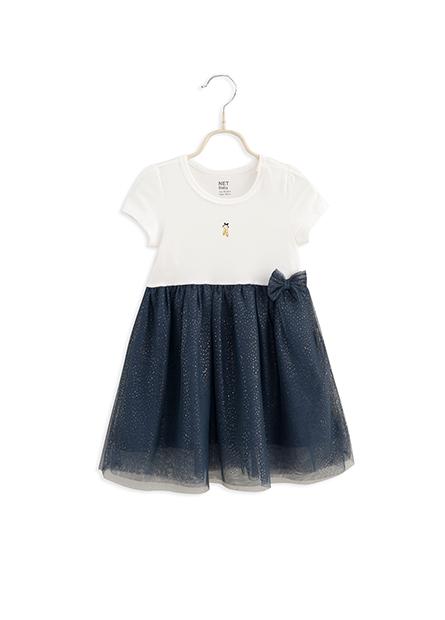 女嬰蝴蝶結紗裙洋裝
