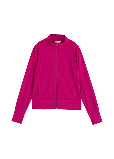 抗UV素色立領外套