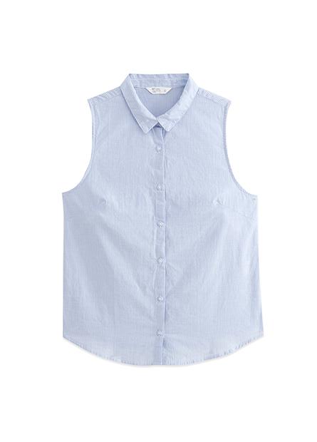 襯衫領無袖背心