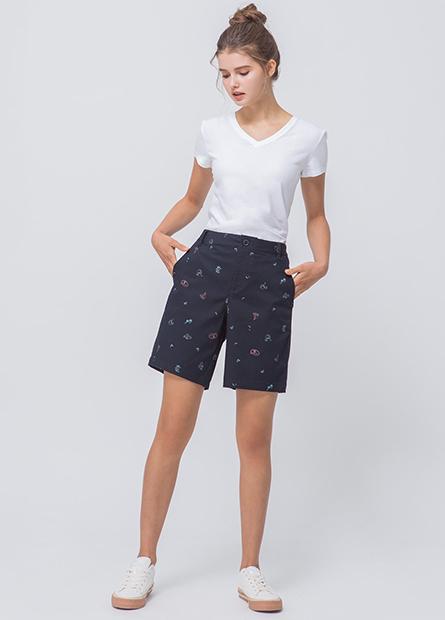 休閒百慕達短褲