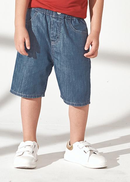 童Regular Fit牛仔短褲
