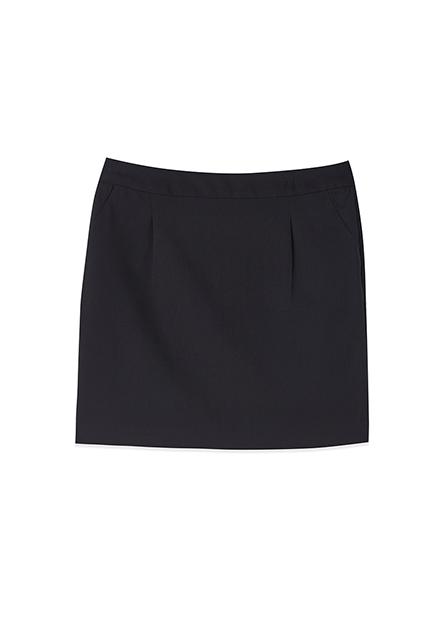 Regular fit打摺商務短裙