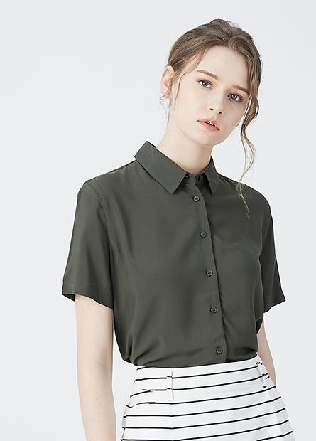 縲縈短袖襯衫
