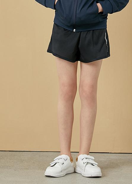 女童印字運動短褲