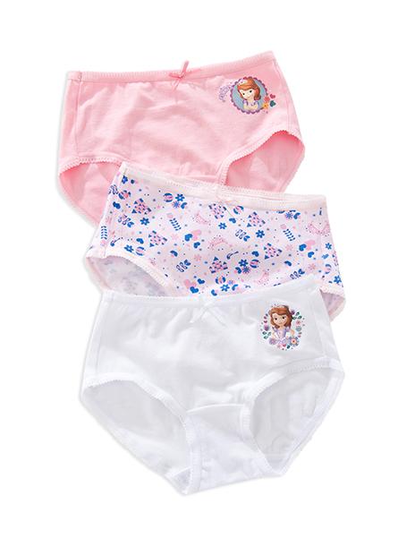 女童迪士尼三角內褲(三入)