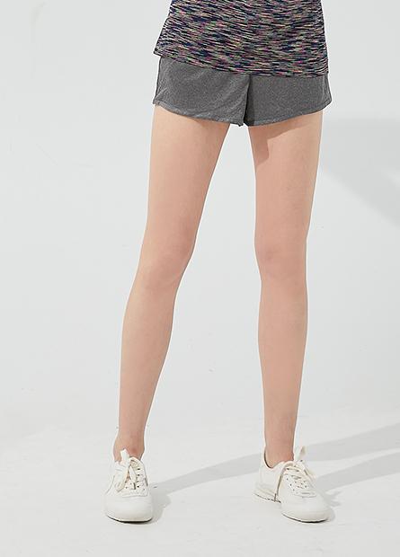 抽繩印字運動短褲