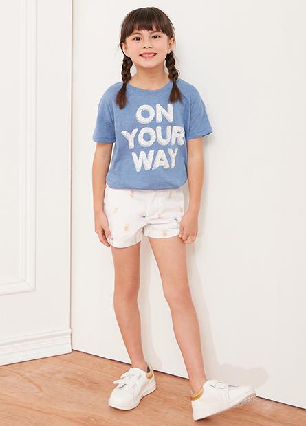 女童休閒短褲