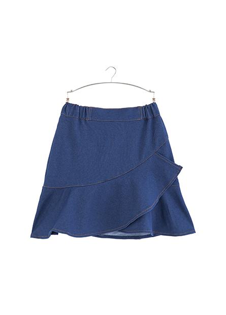 女童荷葉下襬褲裙