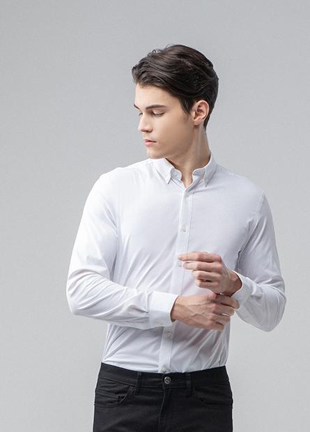 Slim Fit鈕釦領時裝襯衫
