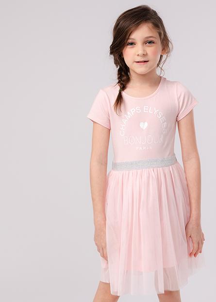 女童紗裙洋裝