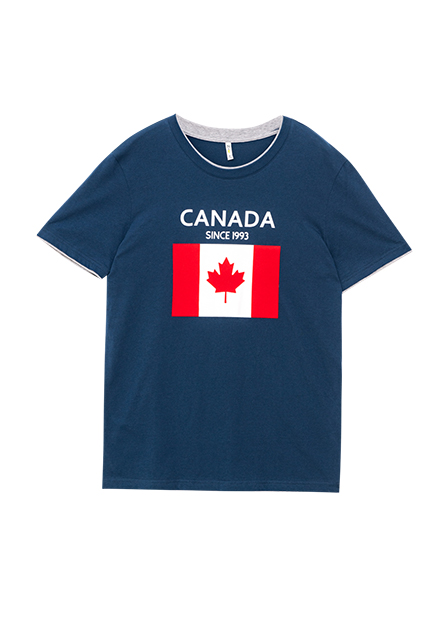 加拿大國旗字母T