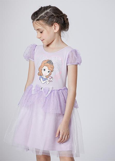 女童蘇菲亞紗裙洋裝