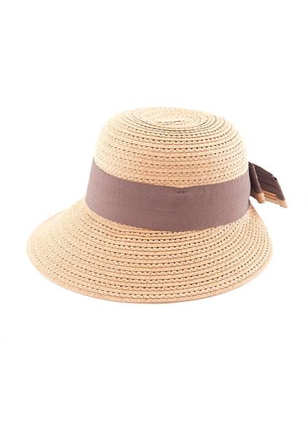 鏤空紙辮遮陽帽