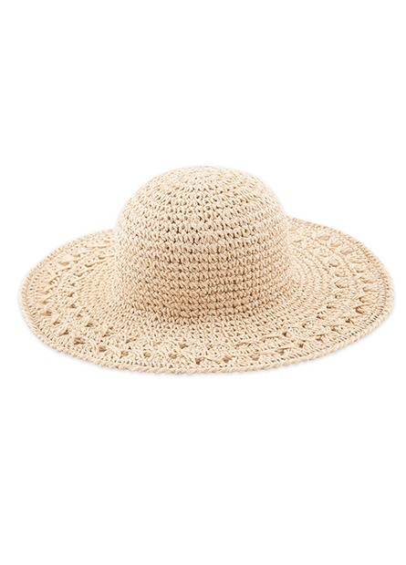 鏤空遮陽帽