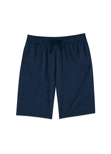 後口袋拉鍊短褲