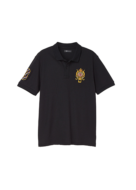 繡英國皇家POLO衫