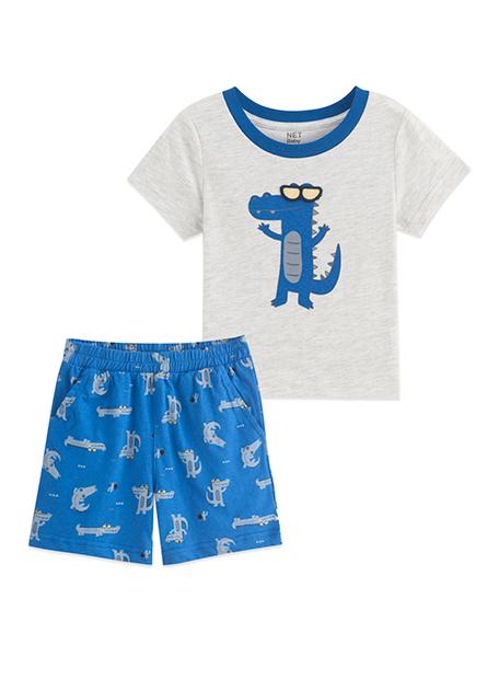 男嬰墨鏡鱷魚套裝