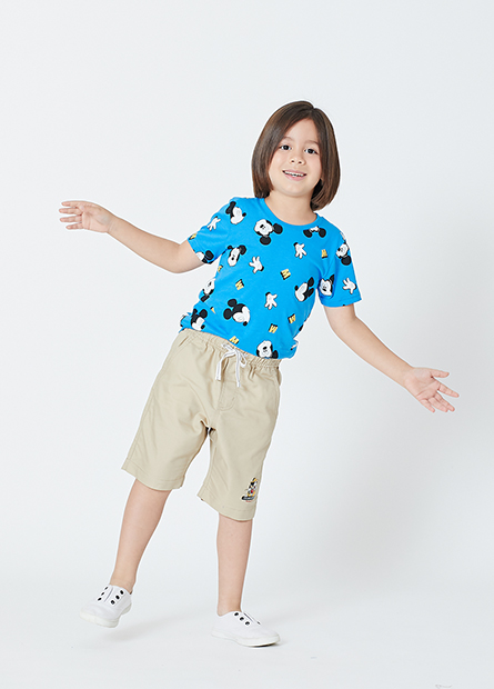男童滿版米奇T