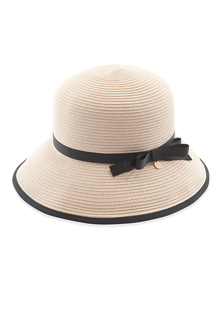 可水洗微翻邊遮陽帽