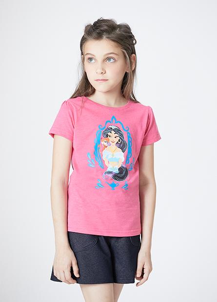 女童茉莉公主泡袖T
