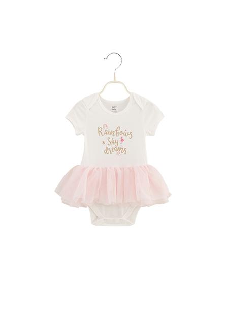女嬰活動肩紗裙包臀衣
