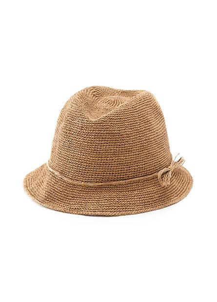 紙編紳士草帽