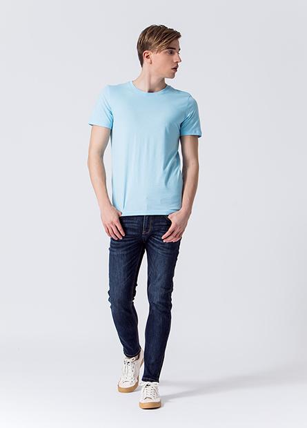Skinny Fit窄管牛仔九分褲