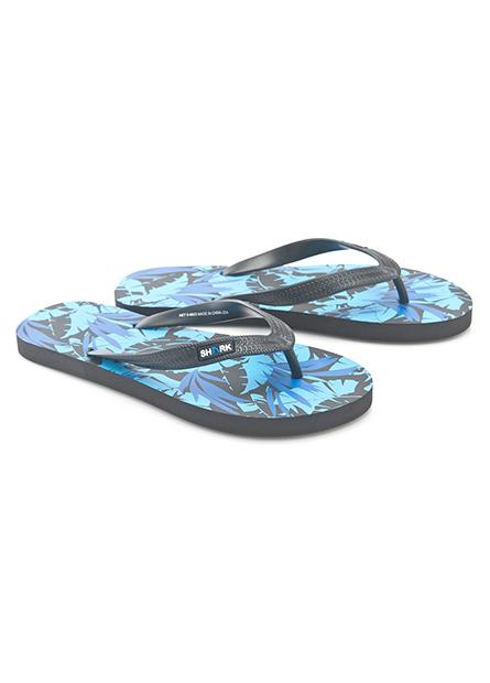 男印花夾腳海灘拖鞋
