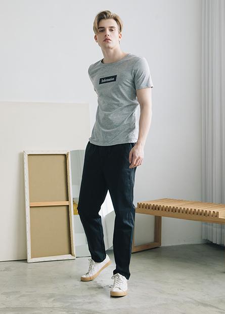 Classic Fit單層休閒長褲