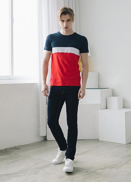 Skinny Fit合身牛仔長褲