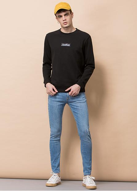 Skinny緊身彈性牛仔褲