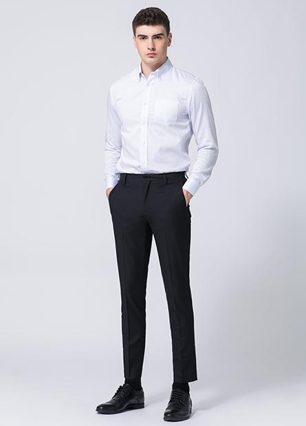Skinny Fit窄管西裝褲