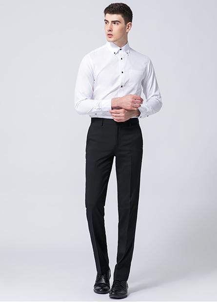 Slim Fit修身西裝褲