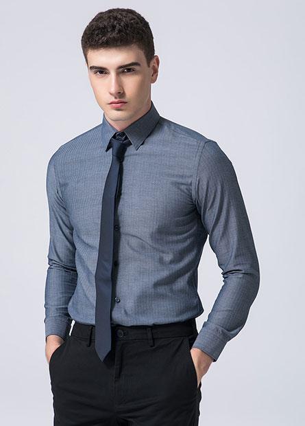 Slim Fit標準領修身襯衫