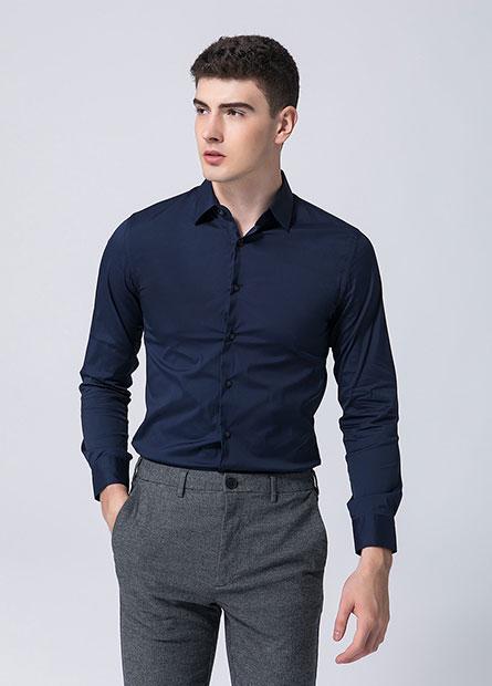 Skinny Fit合身商務襯衫