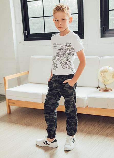 Regular Fit男童束口褲
