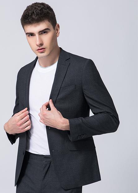 窄版雙釦西裝外套
