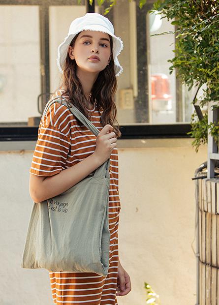 長型洗水布購物袋